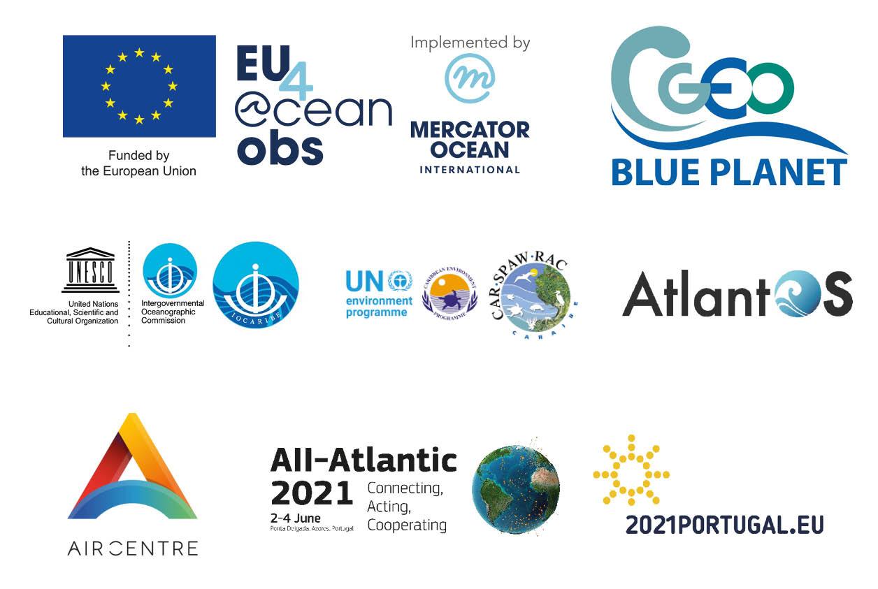 Sargassum Event All Atlantic Organisers Logos